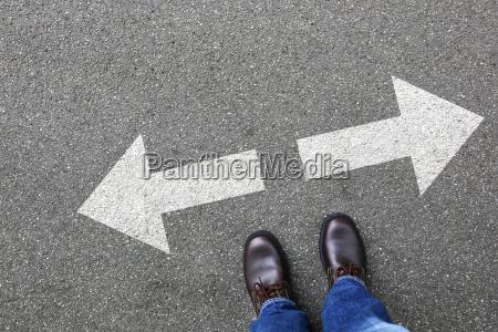 decyzja zdecyduj biznes koncepcja biznesmen cele