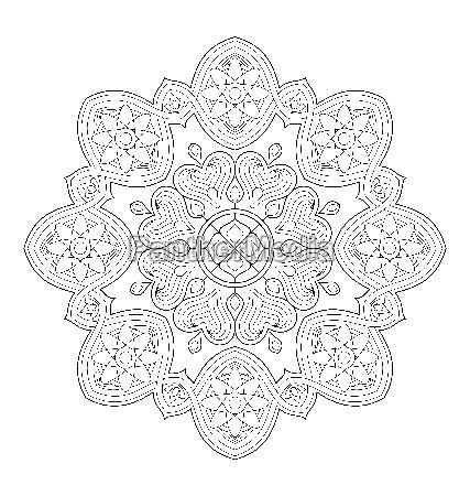 mandala ilustracji dla doroslych farbowanie
