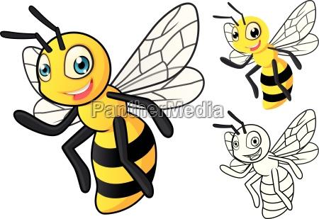 wysokiej jakosci szczegolowy miod pszczola charakter