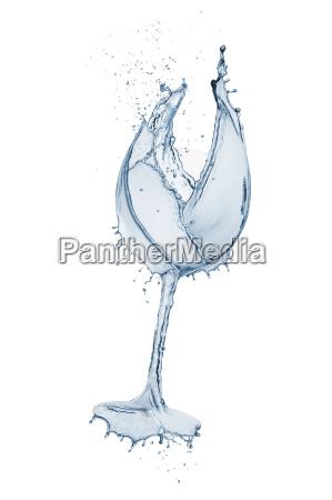 rozpryskiwania szkla wodnego