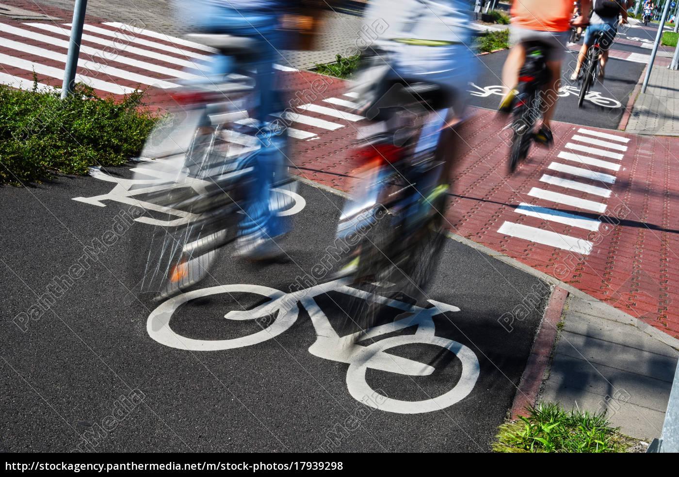 znak, drogowy, rowerów, i, rowerów, jeźdźców - 17939298