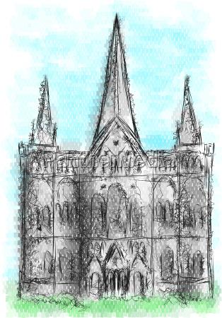wieza religijne kosciol wierzacy pomnik katedra