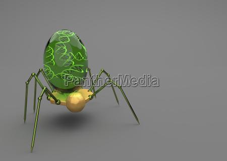 nauka badanie owad przyszlosc komorka futurystyczny
