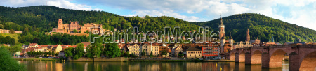old town of heidelberg in the