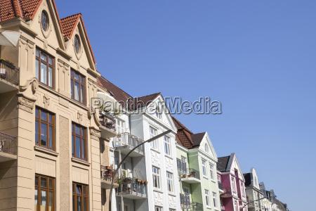 old building in hamburg germany