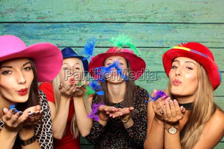 kolorowe kolektora nakrycie glowy kapelusze cios