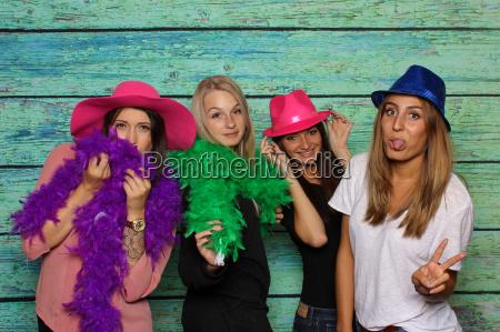 kobiet glamour nakrycie glowy kapelusze dziewczyny