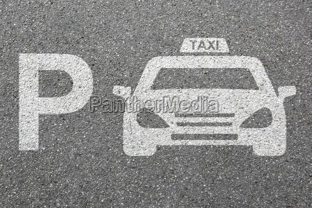 parking taxi samochod parking pojazd miasto