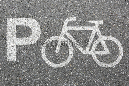 parking bike parking kola ruchu miasta
