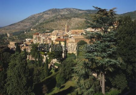 drzewo gora anhoehe wzgorze gory europa