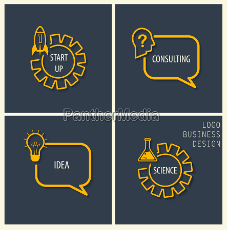start up doradztwo pomysl symbole naukowe