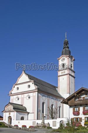 kościół, parafialny, św, marcina, w, flintsbach - 19145791
