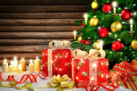 elegant decoration for christmas with christmas