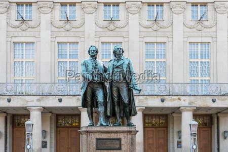 pomnik sztuka slynny niemcy republika federalna