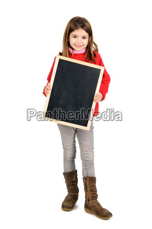 girl with board