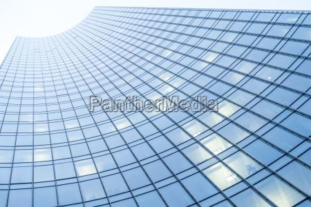 facade of a modern office tower