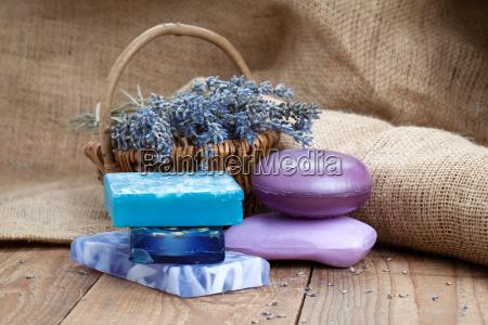 higiena lawenda pielegnacja ciala mydlo