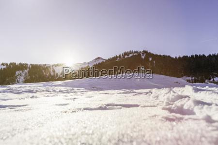 snow covered landscape achenkirch tirol austria