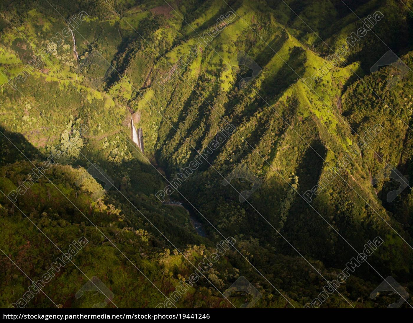 aerial, view, of, waimea, canyon, state - 19441246