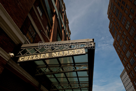chelsea market new york city usa