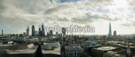 city of london panoramic view london