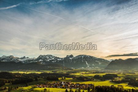 passeio viajar cidade ambiente nuvem bavaria