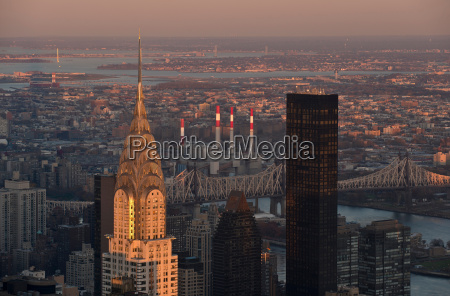 view of chrysler building in manhattan