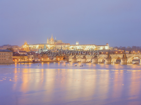 view of st vitus cathedral and
