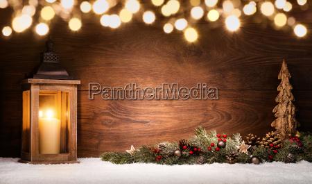 christmas aranzacji z latarnia dekoracje swiateczne