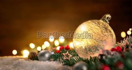 transparent christmas ball i dekoracje swiateczne