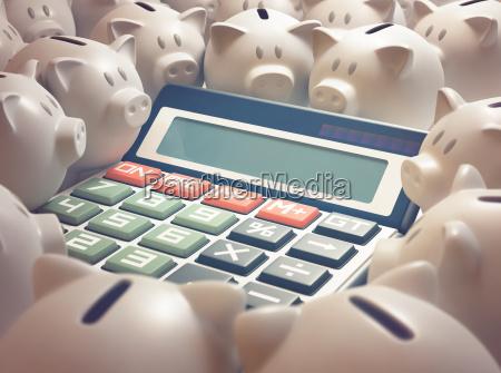 kalkulator finanse piggy bank