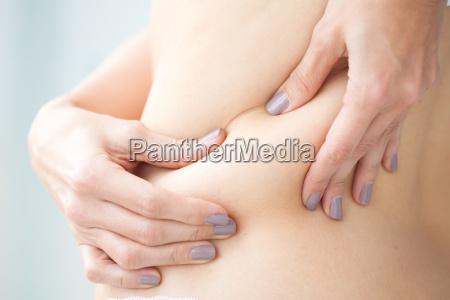 kobieta womane baba plecy chudniecie wychudzony