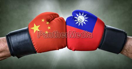 mecz bokserski chiny w stosunku