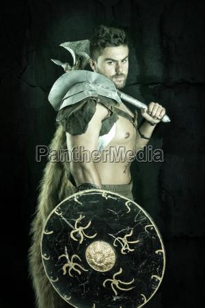 gladiatorbarbarzynca wojownik