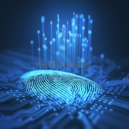 palec zbrodnia szpiegowanie futurystyczny sprawdzic cyfrowe