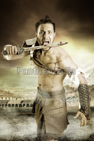 gladiatorbarbarzynski wojownik