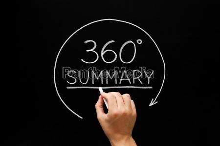summary 360 degrees concept