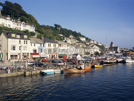 looe cornwall england united kingdom europe