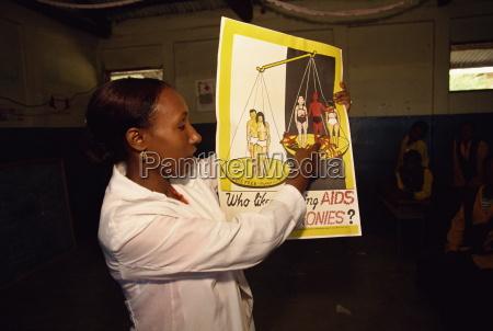 pomoce edukacji w szkole harar etiopia