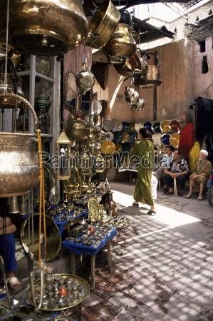 rekodzielo souk marrakech maroko afryka polnocna