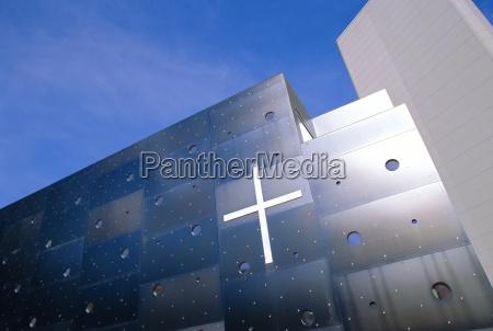 religia kosciol nowoczesne nowoczesna wieden krzyz