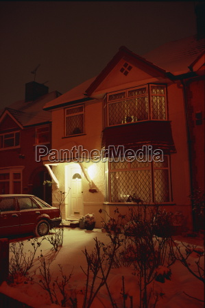a house in the crossways at