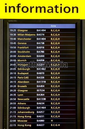 informacje o lotach lotnisko heathrow terminal