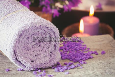 ustawienie purpurowe spa