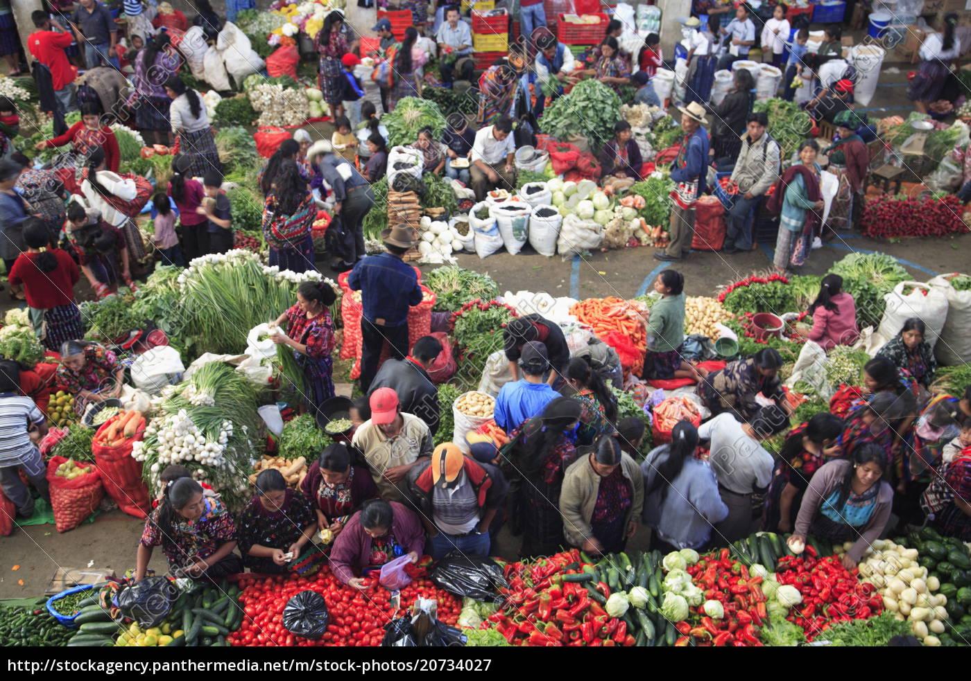 rynek, produkcji, chichicastenango, gwatemala, ameryka, Środkowa - 20734027