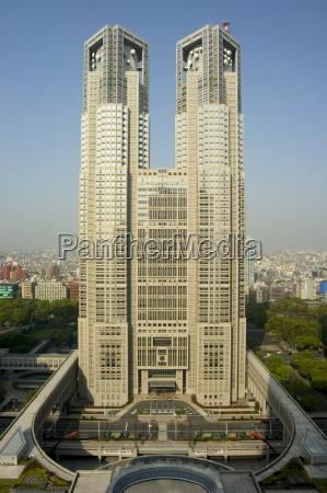 metropolitan government building tocho shinjuku tokyo