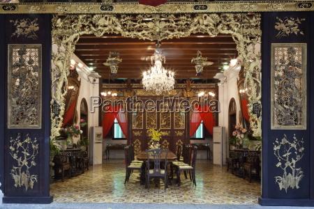 penang peranakan mansion rekreacji typowego xix