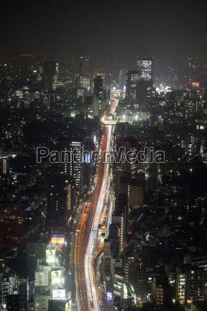 night view of tokyo from tokyo