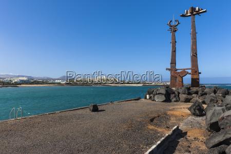 hiszpania wyspy kanaryjskie lanzarote dzielo sztuki