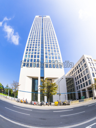 germany hesse frankfurt westend opera tower